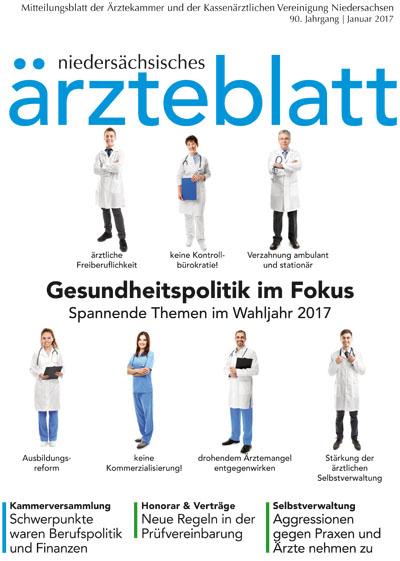 niedersächsisches ärzteblatt 01/17 - Klinik und Praxis